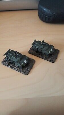 15mm Ww2/flames Of War Humber Command Armoured Car Painted British • 10£