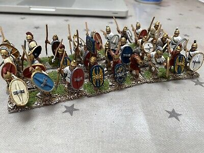Nicely Painted 28mm Carthaginian Or Greek Infantry • 13.10£
