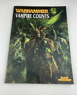 Games Workshop Warhammer Vampire Counts Army Book Soft Back 2001 • 15.99£