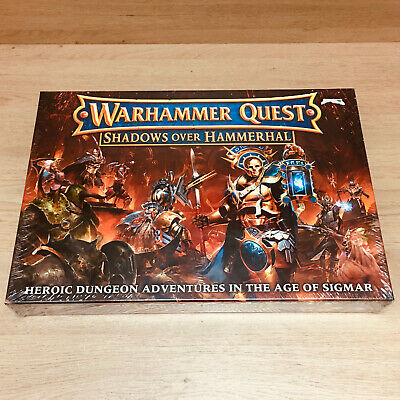Warhammer Quest Shadows Over Hammerhal Games Workshop 2017 Out Of Print • 235£