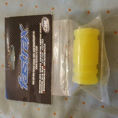 Fastrax 1/8th Pipe Manifold Coupling Conector Yellow Rc Nitro Car Exhaust • 4.20£
