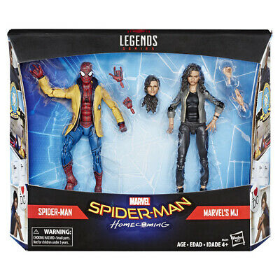 Marvel Legends Action Figure - Spiderman Homecoming Spider-Man & Mary Jane • 24.95£