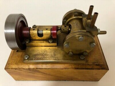 Unusual Vintage Live Steam Horizontal Oscillating Marine Engine Model Quality • 350£