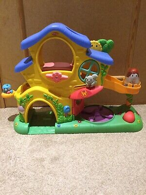 Playskool Weebles Turn & Tumble Play House With Sounds & 1 Figure • 30£