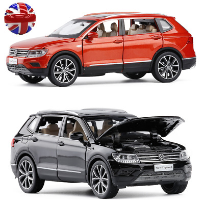 1:32 Scale Volkswagen VW All New Tiguan L SUV Diecast Model Car Toy Sound&Light • 16.99£