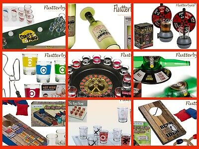 DRINKING GAMES-Party Fun-Christmas-Birthdays-STAG-Hen-Family Time-GIFTS-PARTY • 5.99£
