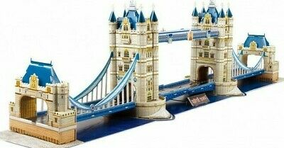 3D Puzzle Of London Tower Bridge. National Geographic Puzzle And Booklet • 17.99£