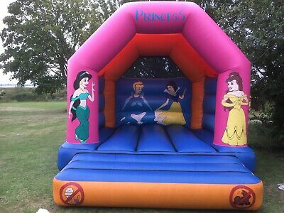 Bouncy Castle Princess Themed 12 X 14ft Commercial Grade Used In Good Condition. • 474.99£