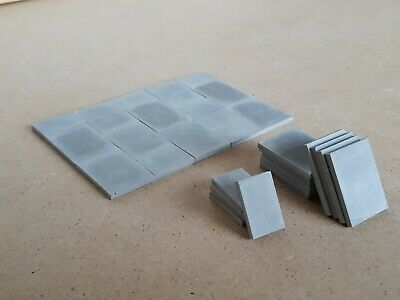 1:24 Scale Diorama-build Accessories: 600 X 450 Paving Slabs  • 6.90£