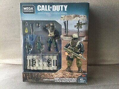Mega Construx Call Of Duty Desert Tactics Weapon Crate Pack • 26.95£
