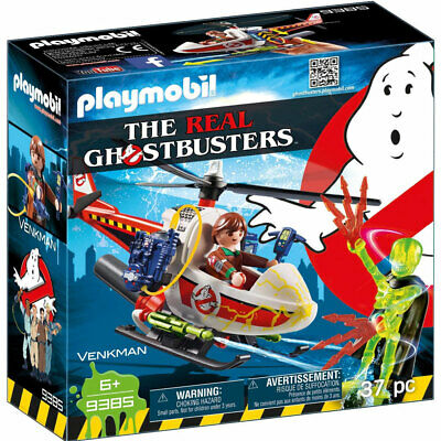 Playmobil 9385 Ghostbusters Venkman With Helicopter • 12.49£