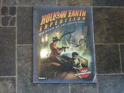 HOLLOW EARTH EXPEDITION - Perils Of The Surface World RPG Book • 19.99£