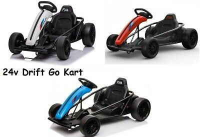 24v KIDS ELECTRIC RIDE ON DRIFT DRIFTING RACING GO KART • 249.99£