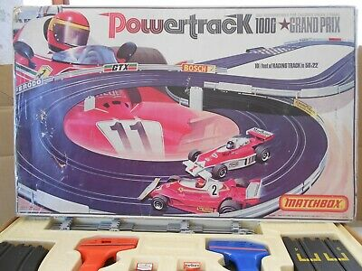 Matchbox, Powertrack 1000 Grand Prix  Slot Racing Set 1978 • 14.99£