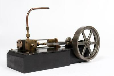 Vintage ~  Horizontal Steam Engine                                         #1059 • 67.13£