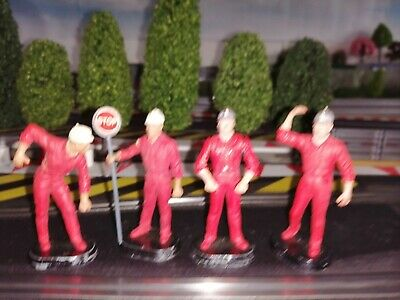 Set Of 4 Britain's Auto Way Construction/ Roadworks Figures, Used. From 9800 Set • 3.10£
