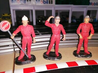 Set Of 3 Britain's Auto Way Construction/ Roadworks Figures, Used. From 9800 Set • 3.10£