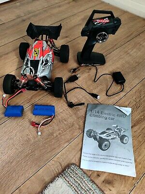 Wltoys XKS 144001 4wd RC Car 60km/H 1/14 2.4GHz RC RTR With 2 Batteries • 55£