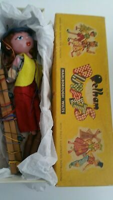 PELHAM PUPPET Early Vintage Cowgirl Boxed • 23.99£
