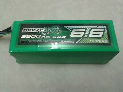 Turnigy Multistar Lipo Battery 6S 6600mAh 10C / RC Quadcopter Hexacopter Drone 1 • 87£