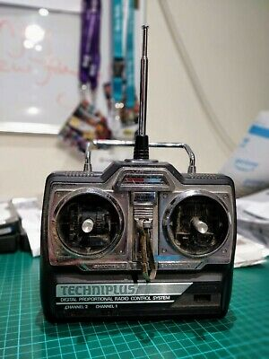 Acoms Techniplus AP-27 MkV 27 MHz Radio Control Transmitter, Vintage RC, Working • 0.99£