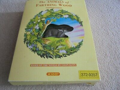 The Animals Of Farthing Wood Collectable Figure Set Vintage Rare  Edition • 9.99£