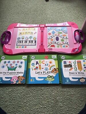 LeapFrog Shapes Colours And Creativity Activity Book Learning LeapStart • 21£