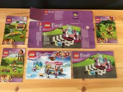 Bundle Of Lego Friends Manuals/instructions Only Plus 1 Box • 0.99£
