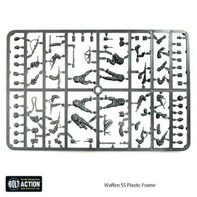 Waffen SS, Plastic Sprue, Bolt Action, Warlord Games, German Army • 4.50£