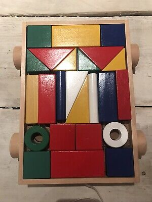 Wooden Shapes Puzzle • 8.99£