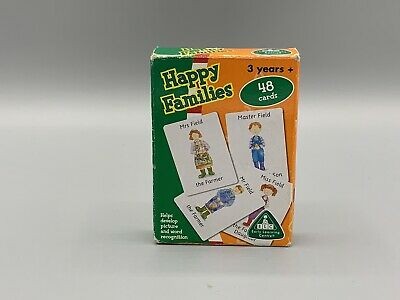 Happy Families By ELC (2002) 48 Cards Boxed & Complete • 22.99£