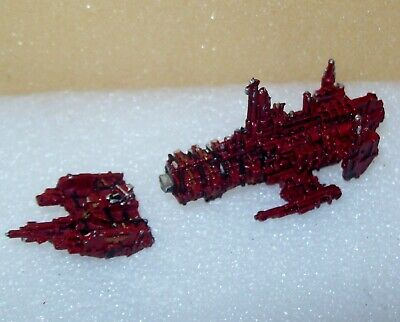 Warhammer 40k Battlefleet Gothic Metal Space Marines Strike Cruiser • 1.45£
