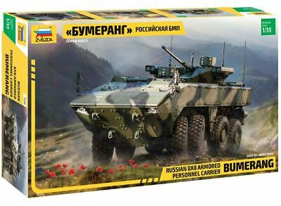 Zvezda 1/35 Russian Bumerang 8x8 Armored Personnel Carrier # 3696. • 18.56£