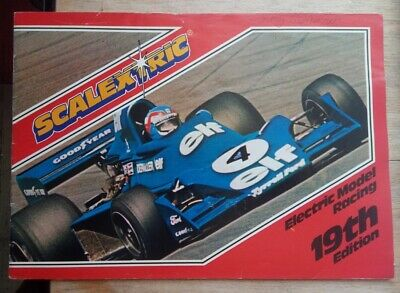 Scalextric Catalogue 19th Edition From 1978 • 1.99£
