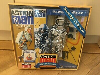 Action Man 40th Anniversary ASTRONAUT  - Nostalgic Collection - SEALED  • 125£
