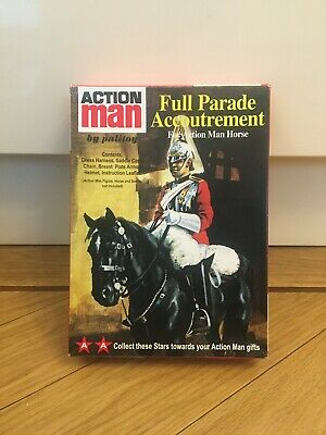 Vintage Action Man 40th Anniversary FULL PARADE ACCOUTREMENT Boxed • 30£