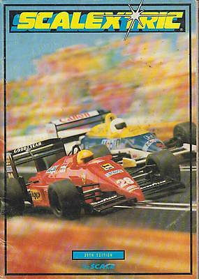 Scalextric Electric Slot Car Racing 30th Edition 1989 Product Range Catalogue • 3.95£
