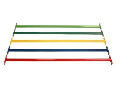Powder Coated Metal Monkey Bars Ladder Rungs 900 Mm 1250 Mm • 12.99£