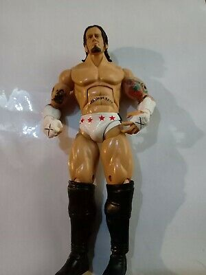 Wwe Cm Punk Jakks Deluxe Aggression Series 8 Wrestling Action Figure • 8£