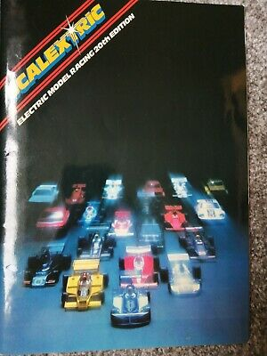 1979 Scalextric All Cars, Tracks And Accessories. 35 Page Brochure. Freepost • 6£
