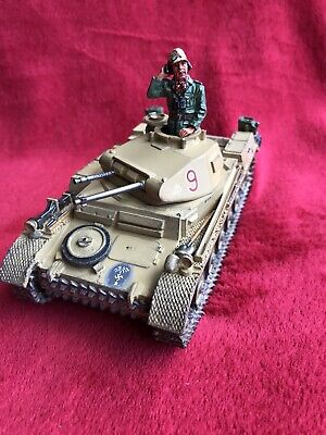 King And Country Afrika Korps Panzer MII Tank With Commander • 119.95£