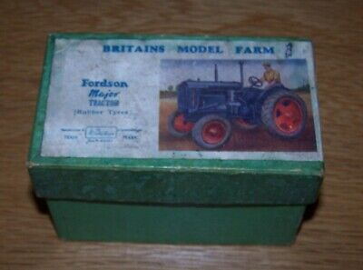 Britains Fordson E27n Major Tractor - Box Only. • 15£