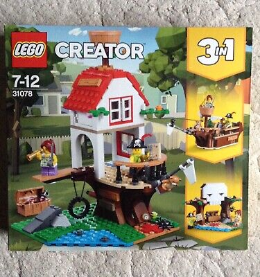 Lego Creator Tree House Treasure 3 In 1 31078 • 26.99£