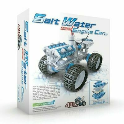 Construct And Create Salt Water Fuel Cell Engine Car Educational Toy  • 14.99£