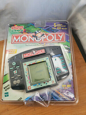 Vintage Hand Held Monopoly LCD Talking Board Game 1999 New In Pack - Free P&P • 29.99£
