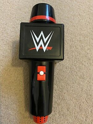 WWE Raw Big Talker Microphone With Sound Effects Wrestling Toy. With Batteries • 2.60£