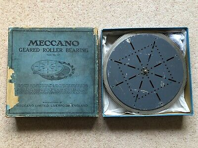 Meccano Vintage Geared Roller Bearing 167 Year 1929 • 589£