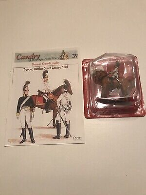 Del Prado Napoleonic Cavalry - Issue 39 - Trooper, Russian Guard Cavalry 1805 • 8£