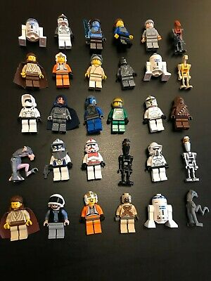 Lego Star Wars Mini Figures Bundle X30 Rare And Hard To Find Included • 75£
