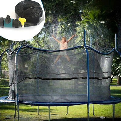 8/12M Trampoline Water Spray Sprinkler Kid Fun Summer Outdoor Waterpark Game Toy • 9.99£